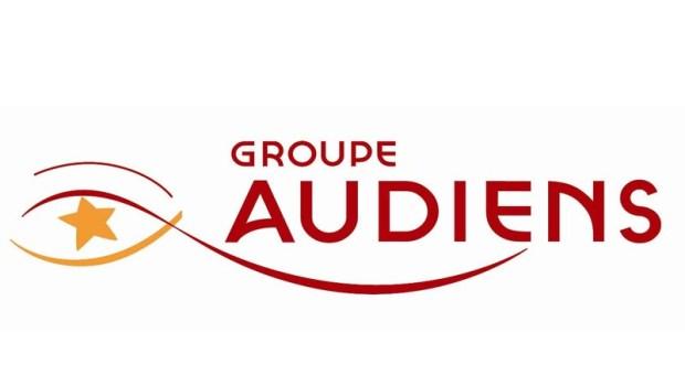 Logo Groupe Audiens retraite