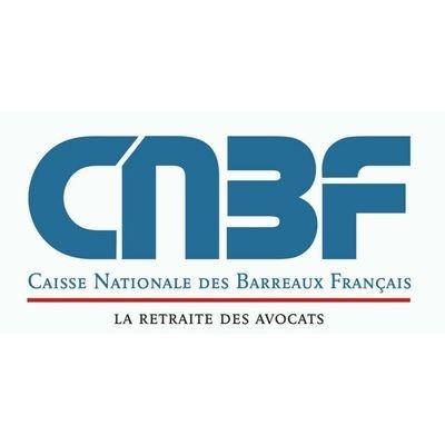 Logo CNBF - Caisse nationale des barreaux français - La retraite des avocats